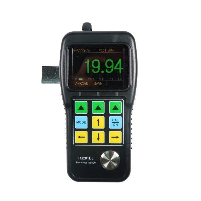 Ultrasonic Paint Thickness Gauge A&B Scan Coatings 0.50mm To 508mm Measure